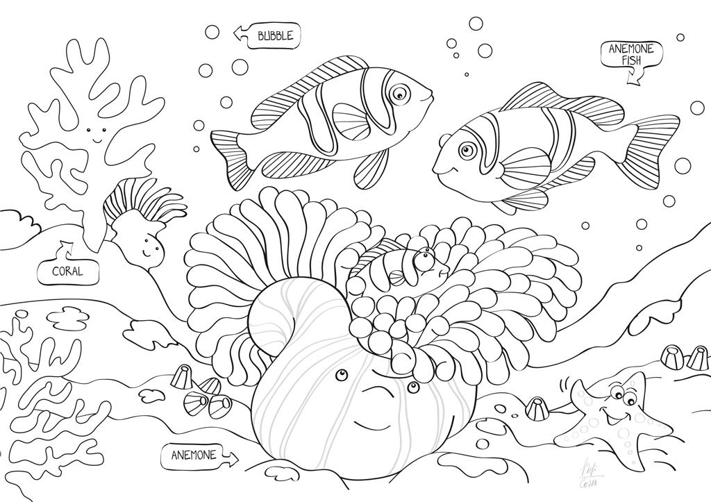 Album gioca e colora per insegnare la biodiversità, edizioni Geodia