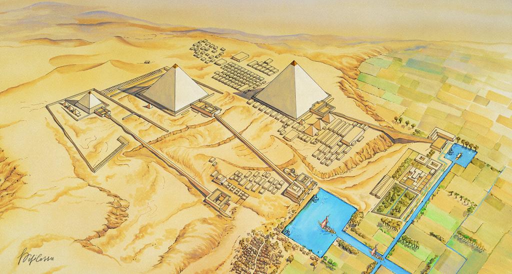 Piramidi di Giza, Egitto, edizioni Geodia
