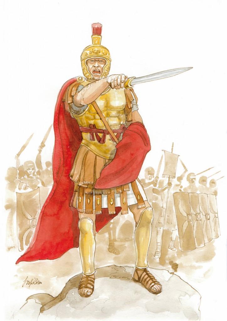 I soldati romani, opera a fascicoli, edizioni Hobby&Work