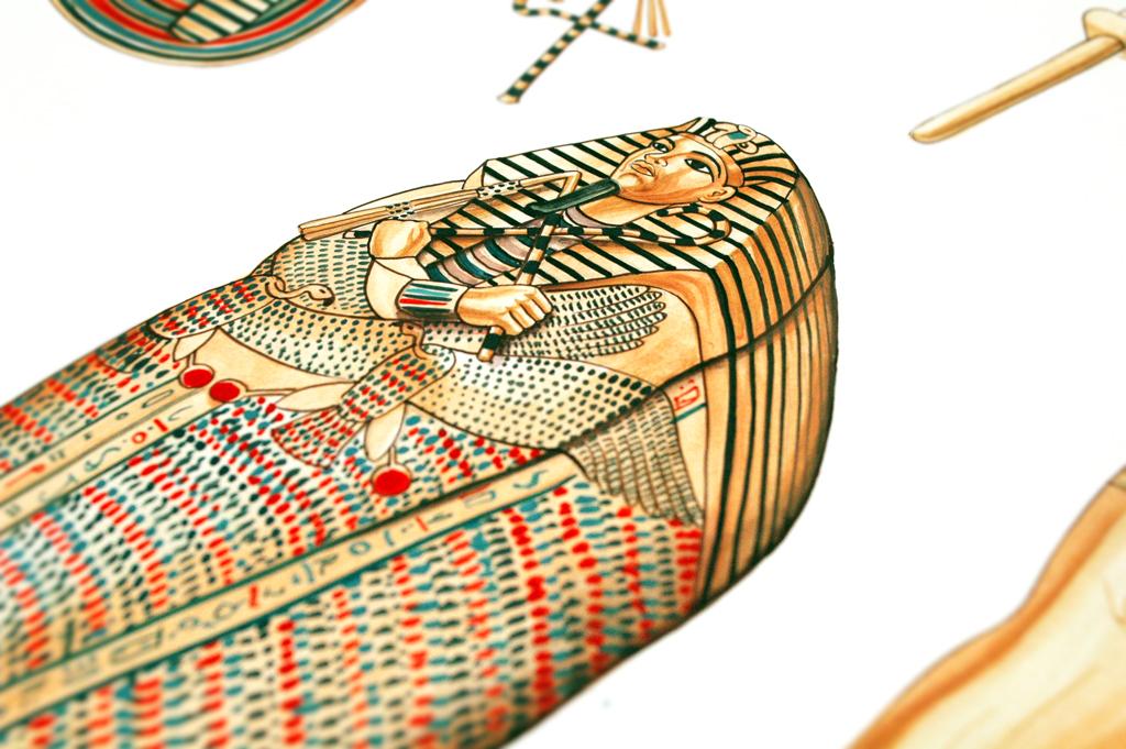 Tesoro tutankhamon, edizioni Geodia