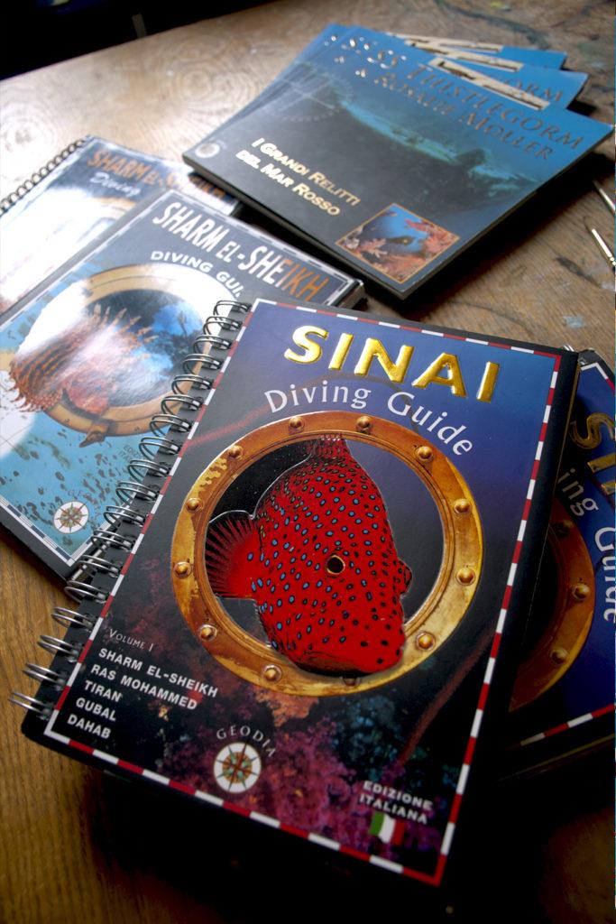 Mappature subacque, Sinai Diving Guide, Sharm El Sheikh Diving Guide, SS Thistlegorm & Rosalie Moller, relitti del Mar Rosso, edizioni Geodia