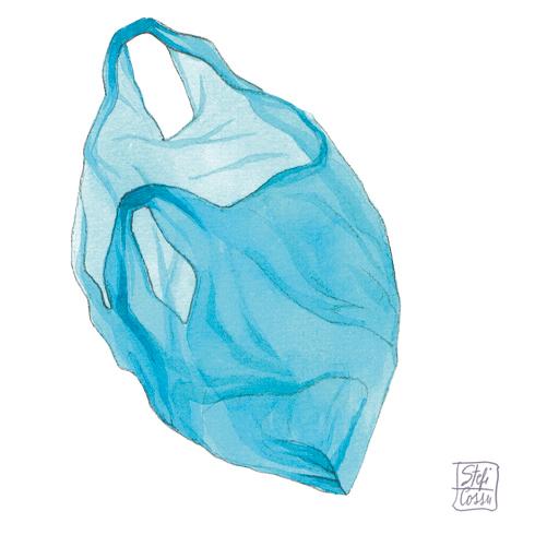 borsa plastica, plastic bag
