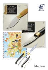 coltello d'autore, opera a fascicoli , Hachette