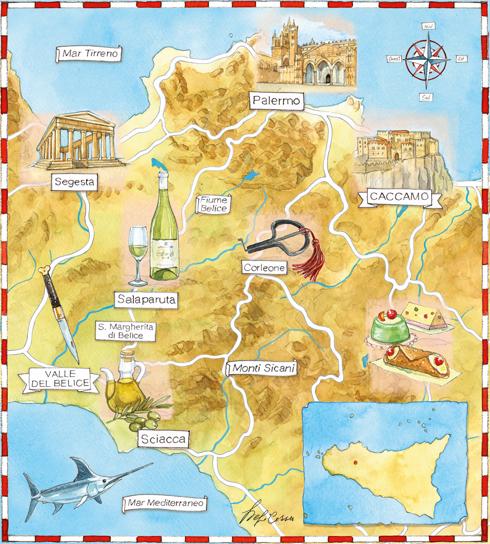 Mappe regionali, Coltelli d'autore, edizioni Hachette