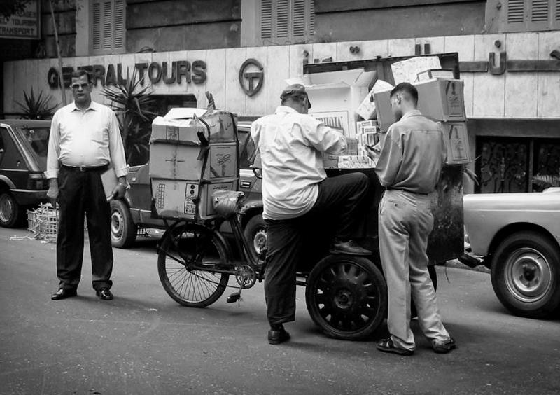 Il Cairo, tabaccaio