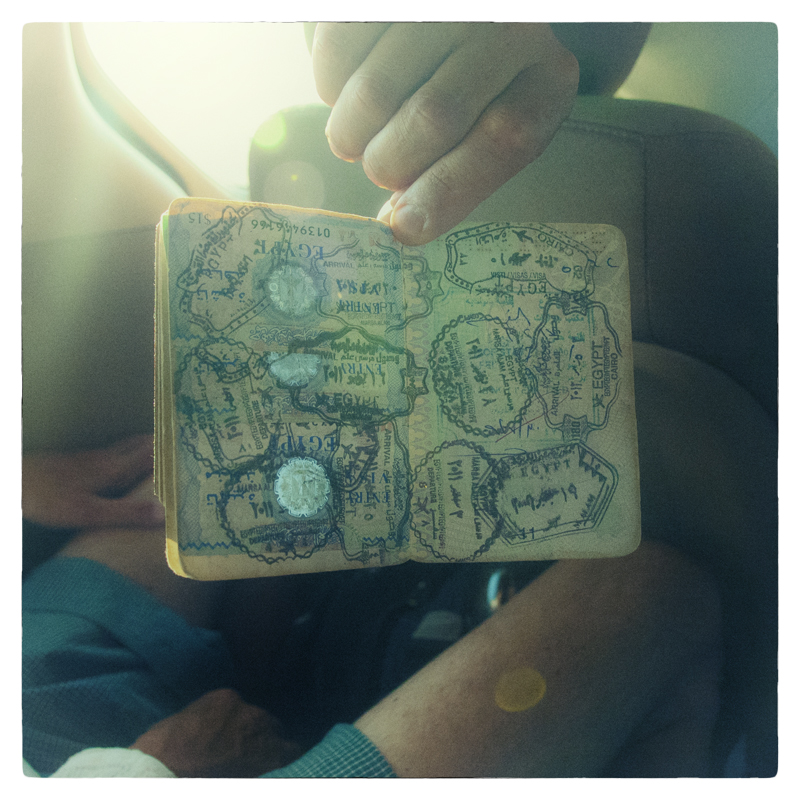 Egitto, passaporto