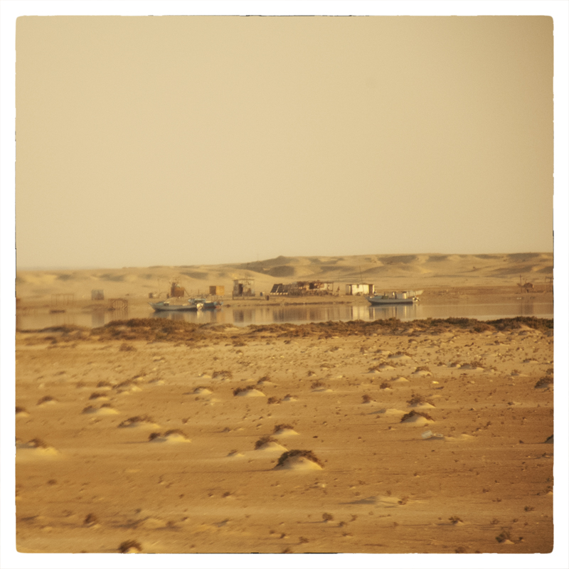 Egitto, mare nel deserto