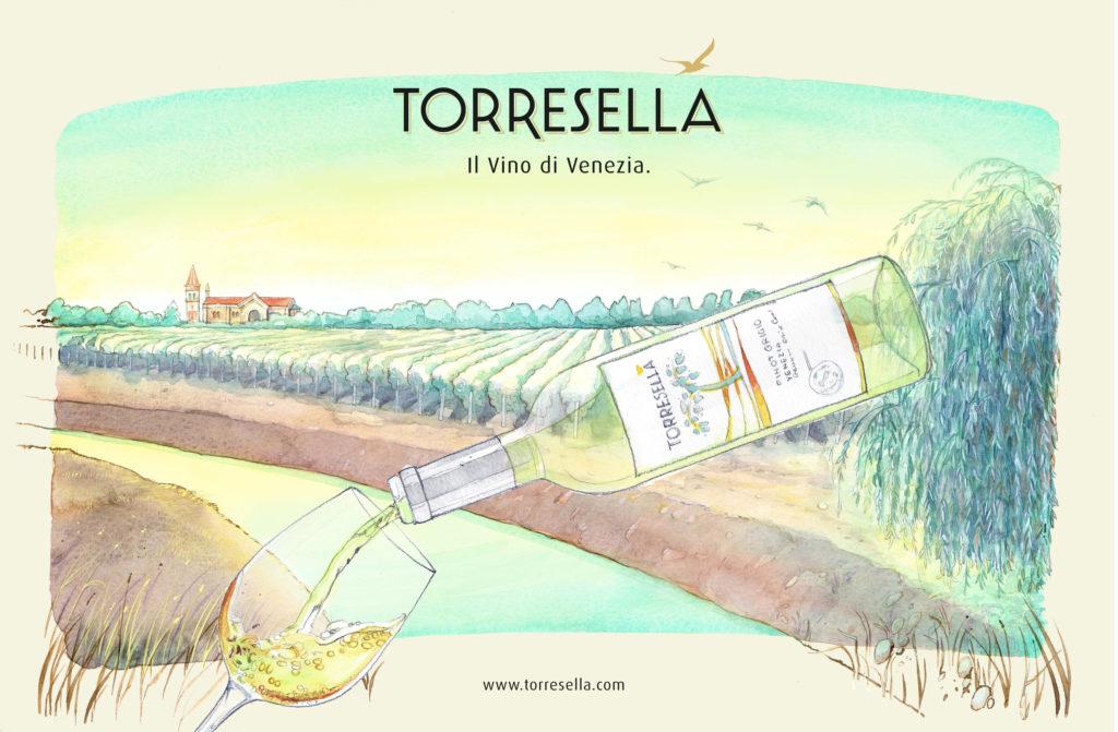 Advertising TORRESELLA – Venezia