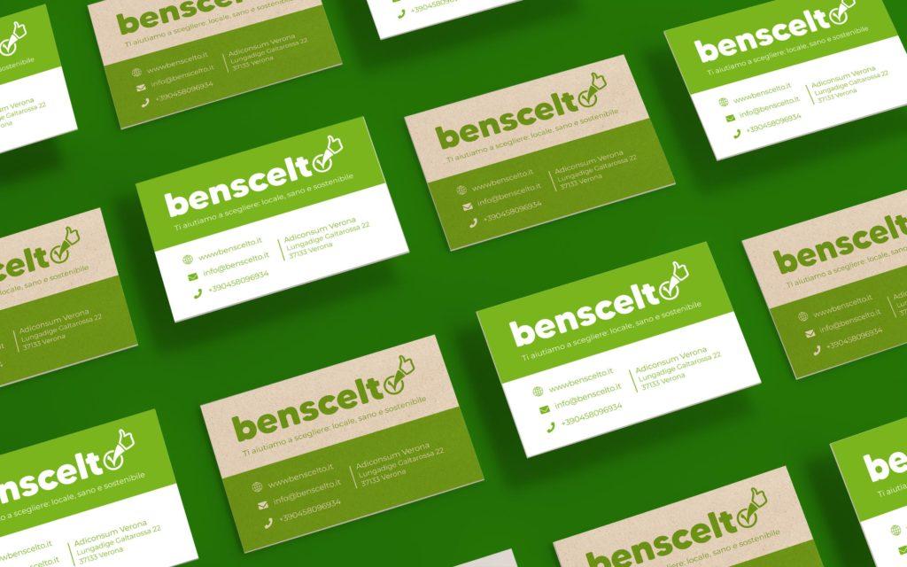 Brand identity progetto BENSCELTO.IT